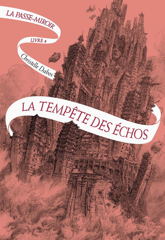 Französisches Cover des vierten Bandes der Spiegelreisenden-Saga von Christelle Dabos